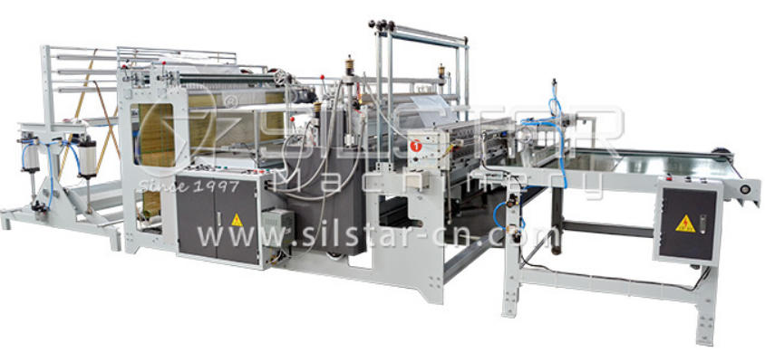 High Speed Bottom Sealing Bag Making Machine